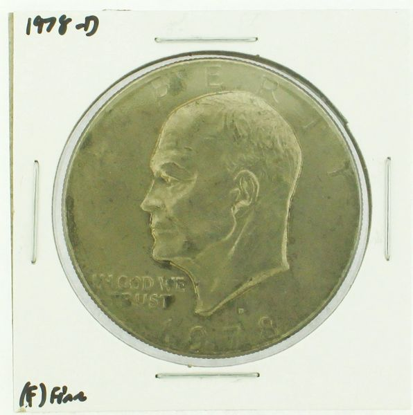 1978-D Eisenhower Dollar RATING: (F) Fine (N2-4297-17)