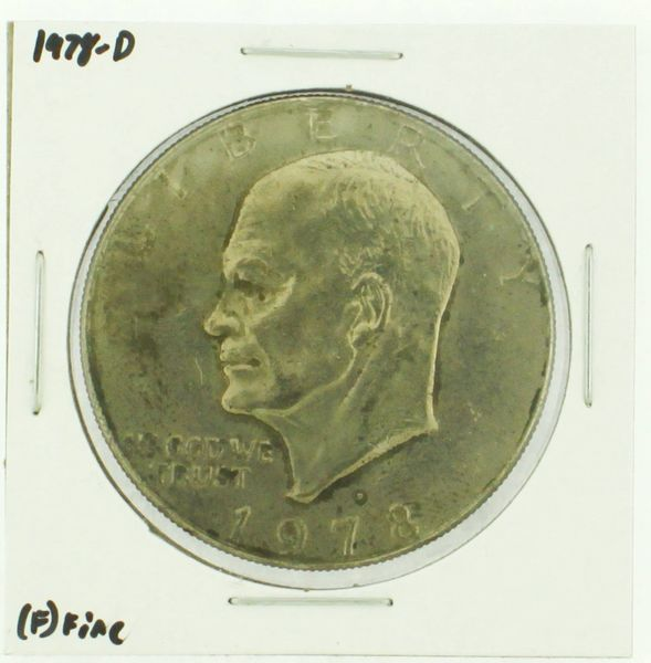 1978-D Eisenhower Dollar RATING: (F) Fine (N2-4297-18)