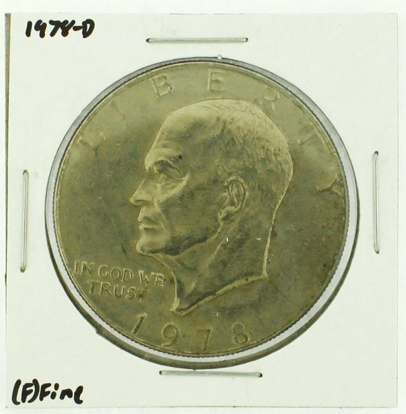 1978-D Eisenhower Dollar RATING: (F) Fine (N2-4297-19)