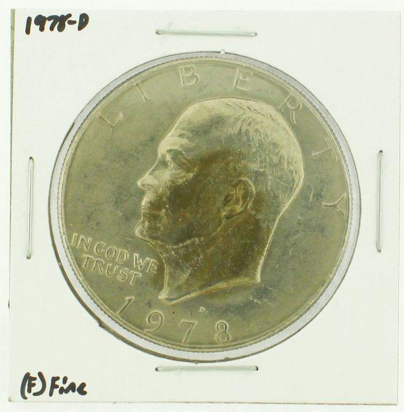1978-D Eisenhower Dollar RATING: (F) Fine (N2-4297-20)