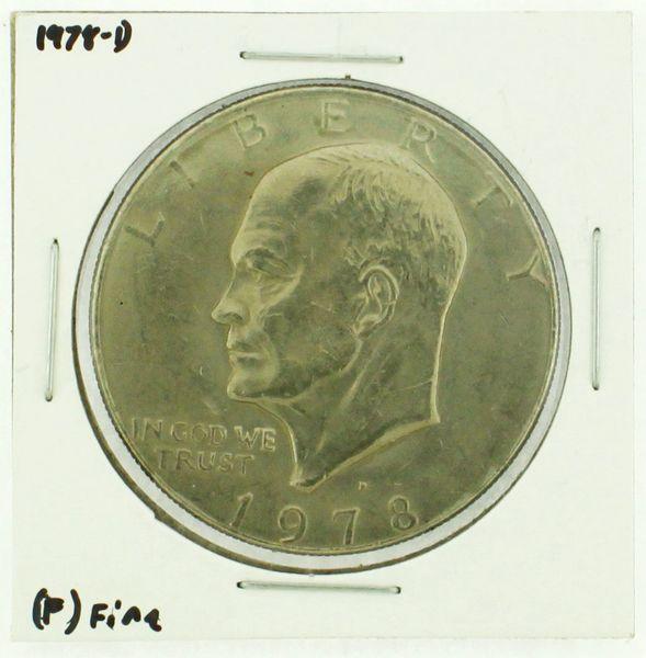 1978-D Eisenhower Dollar RATING: (F) Fine (N2-4297-24)