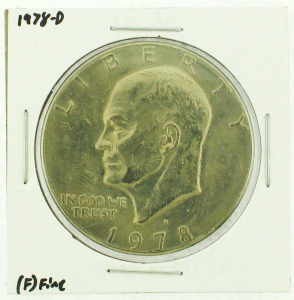 1978-D Eisenhower Dollar RATING: (F) Fine (N2-4297-25)