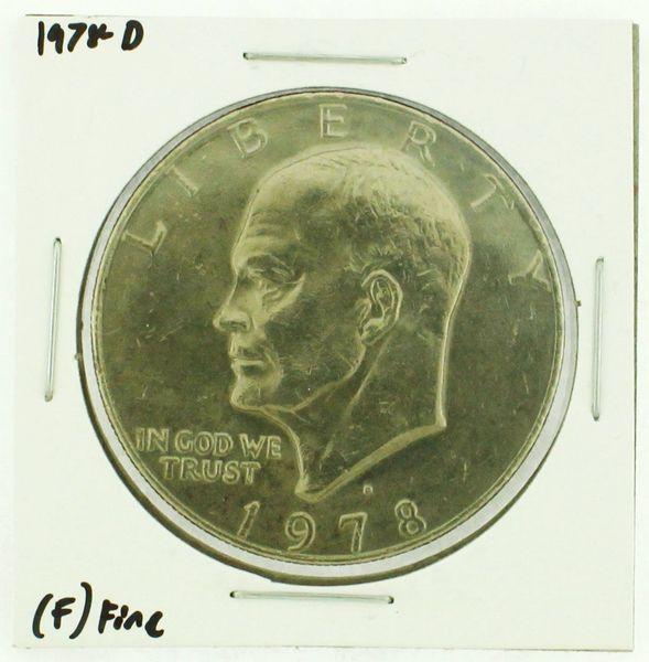 1978-D Eisenhower Dollar RATING: (F) Fine (N2-4297-26)