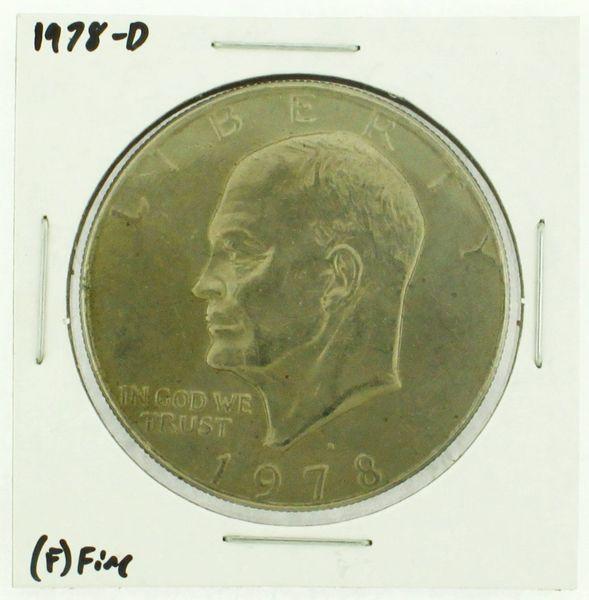1978-D Eisenhower Dollar RATING: (F) Fine (N2-4297-27)