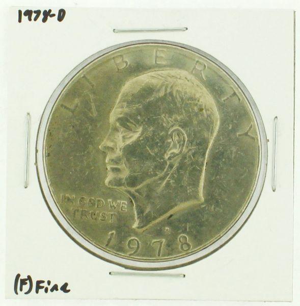 1978-D Eisenhower Dollar RATING: (F) Fine (N2-4297-29)