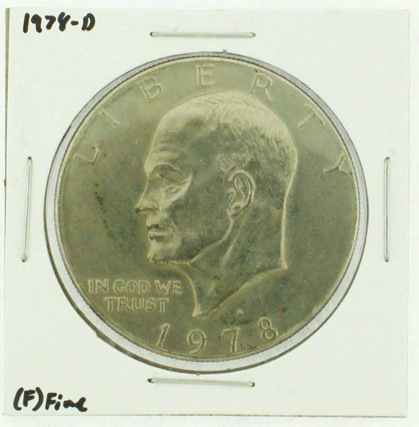 1978-D Eisenhower Dollar RATING: (F) Fine (N2-4297-36)