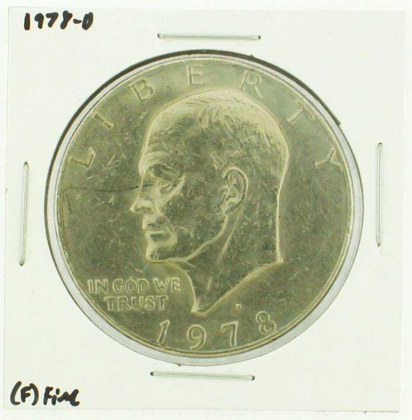 1978-D Eisenhower Dollar RATING: (F) Fine (N2-4297-37)