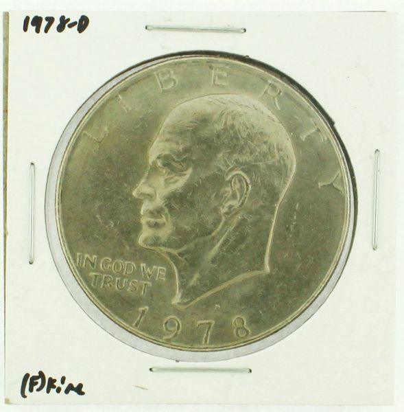 1978-D Eisenhower Dollar RATING: (F) Fine (N2-4297-39)