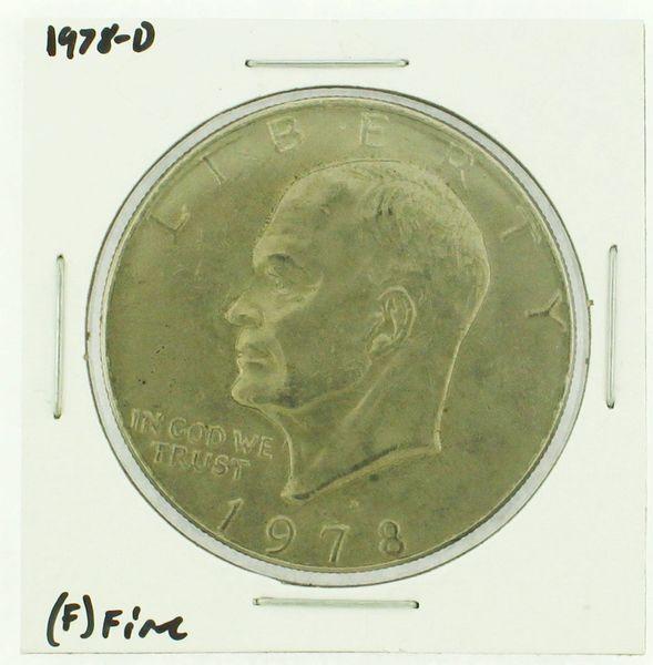 1978-D Eisenhower Dollar RATING: (F) Fine (N2-4297-40)