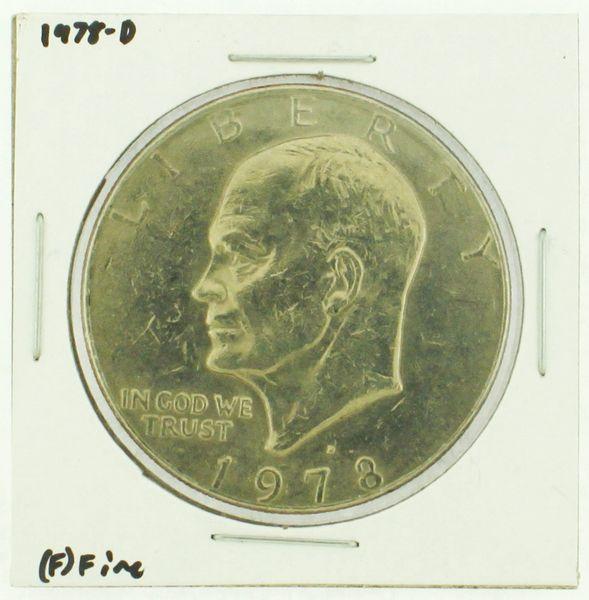 1978-D Eisenhower Dollar RATING: (F) Fine (N2-4297-41)