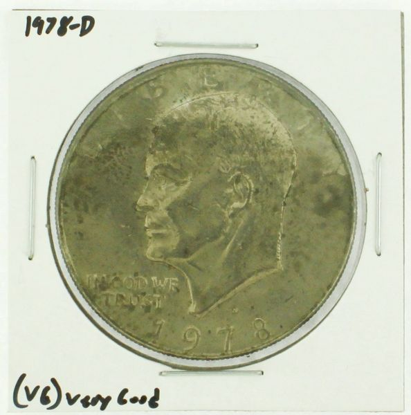 1978-D Eisenhower Dollar RATING: (F) Fine (N2-4340-01)