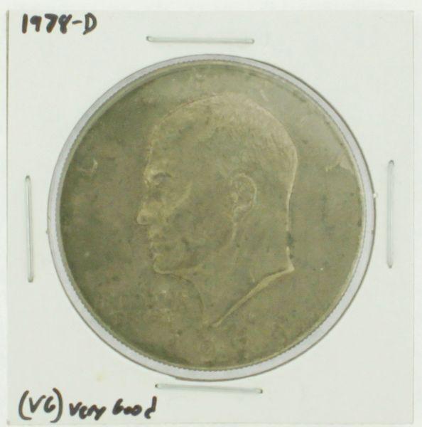 1978-D Eisenhower Dollar RATING: (F) Fine (N2-4340-03)