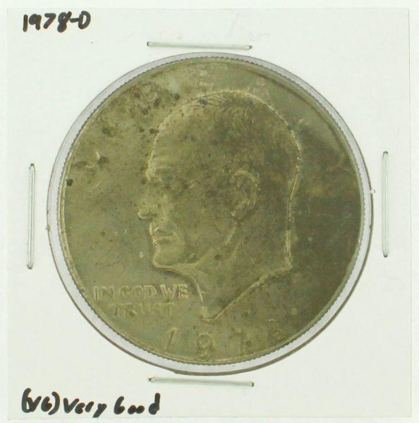 1978-D Eisenhower Dollar RATING: (F) Fine (N2-4340-04)