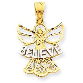 Believe Angel Pendant (JC-882)