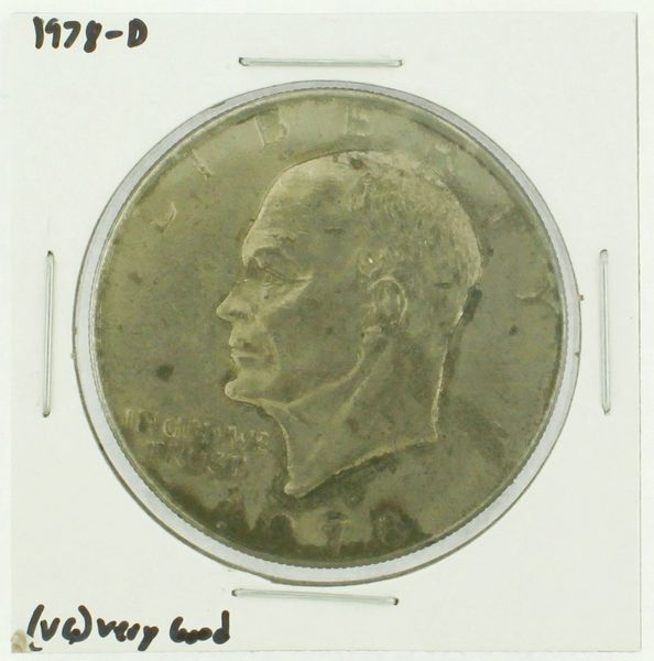 1978-D Eisenhower Dollar RATING: (F) Fine (N2-4340-05)