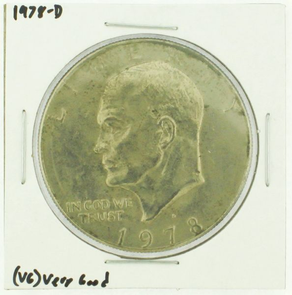 1978-D Eisenhower Dollar RATING: (F) Fine (N2-4340-06)