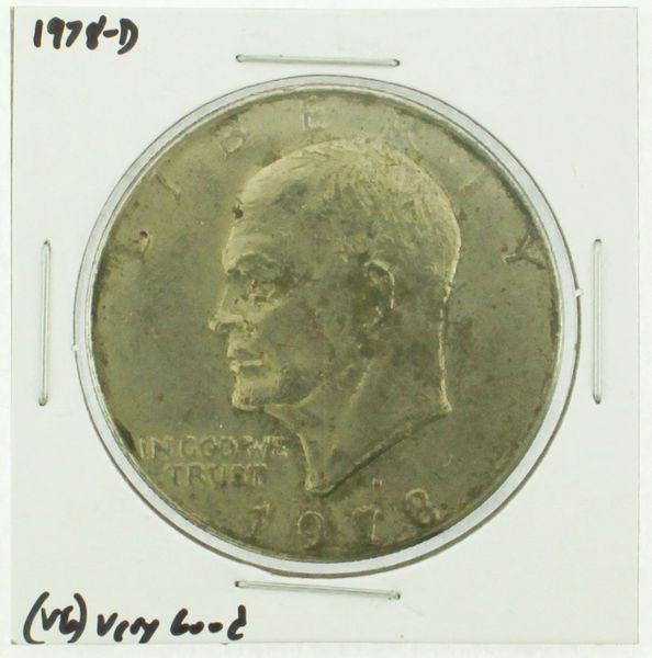 1978-D Eisenhower Dollar RATING: (F) Fine (N2-4340-09)