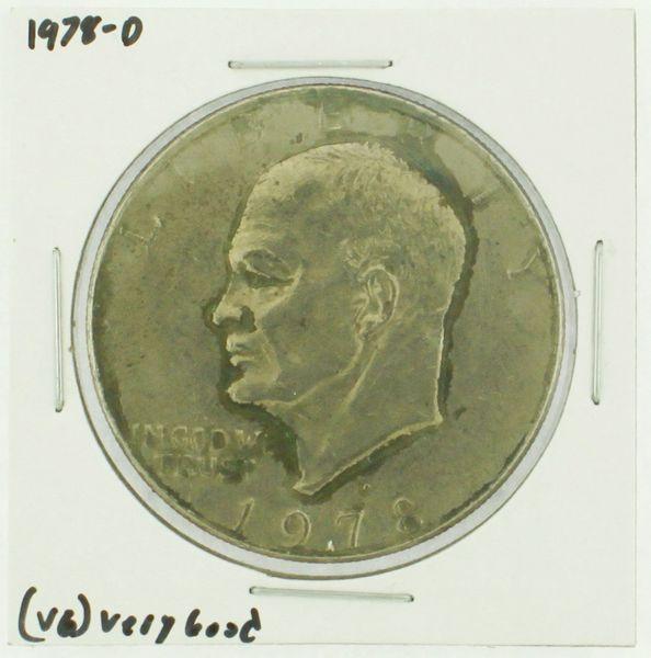 1978-D Eisenhower Dollar RATING: (F) Fine (N2-4340-10)