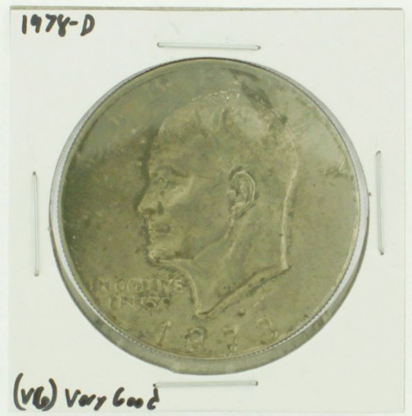 1978-D Eisenhower Dollar RATING: (F) Fine (N2-4340-11)