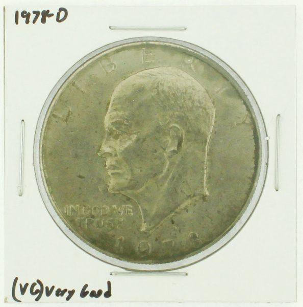 1978-D Eisenhower Dollar RATING: (F) Fine (N2-4340-12)