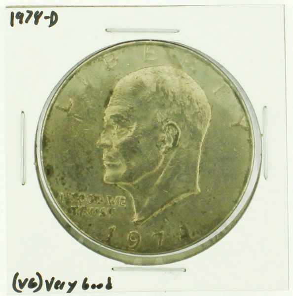 1978-D Eisenhower Dollar RATING: (F) Fine (N2-4340-13)