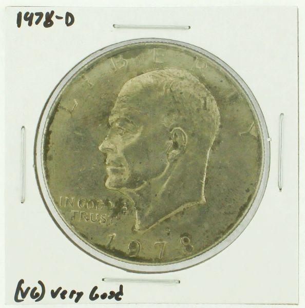 1978-D Eisenhower Dollar RATING: (F) Fine (N2-4340-15)