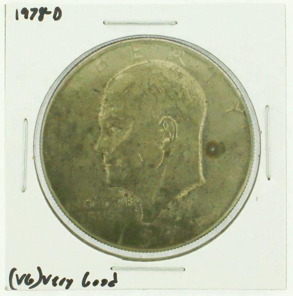 1978-D Eisenhower Dollar RATING: (F) Fine (N2-4340-16)