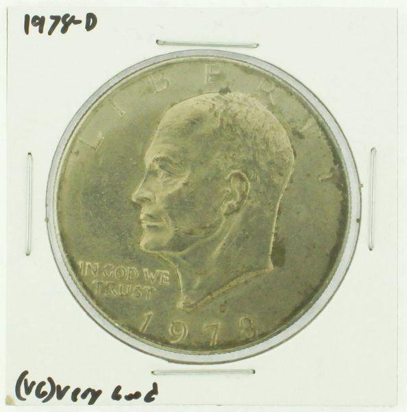 1978-D Eisenhower Dollar RATING: (F) Fine (N2-4340-18)