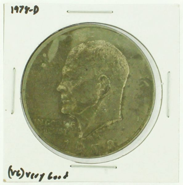 1978-D Eisenhower Dollar RATING: (F) Fine (N2-4340-19)