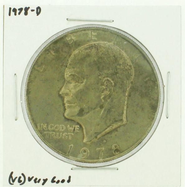 1978-D Eisenhower Dollar RATING: (F) Fine (N2-4340-21)