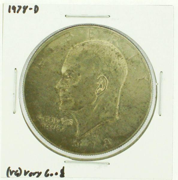 1978-D Eisenhower Dollar RATING: (F) Fine (N2-4340-23)