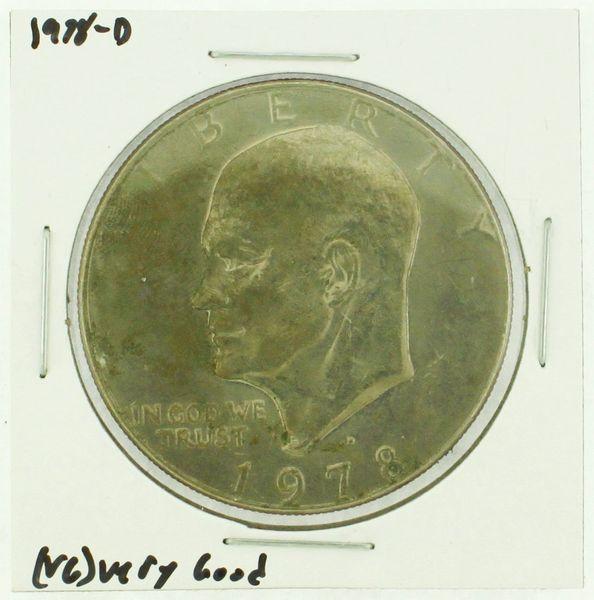 1978-D Eisenhower Dollar RATING: (F) Fine (N2-4340-24)