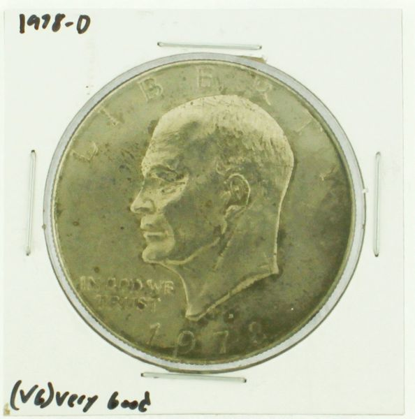1978-D Eisenhower Dollar RATING: (F) Fine (N2-4340-25)