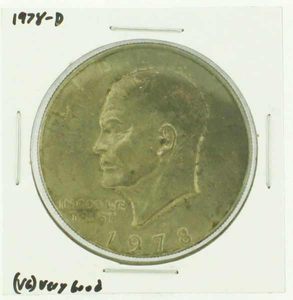 1978-D Eisenhower Dollar RATING: (F) Fine (N2-4340-27)
