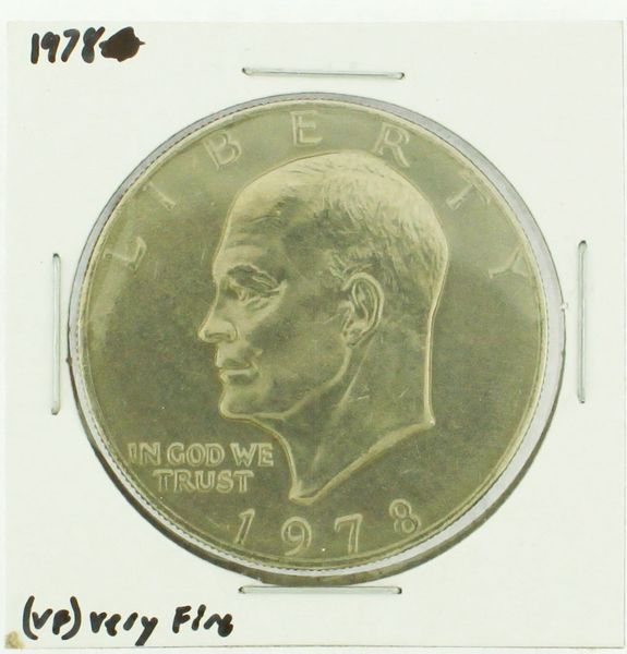 1978 Eisenhower Dollar RATING: (VF) Very Fine (N2-4368-3)