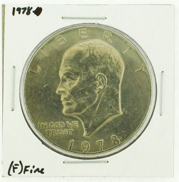 1978 Eisenhower Dollar RATING: (F) Fine (N2-4376-01)