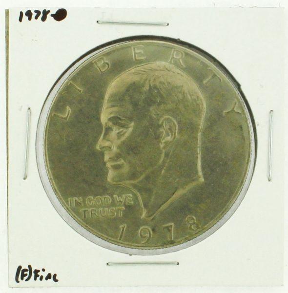 1978 Eisenhower Dollar RATING: (F) Fine (N2-4376-02)