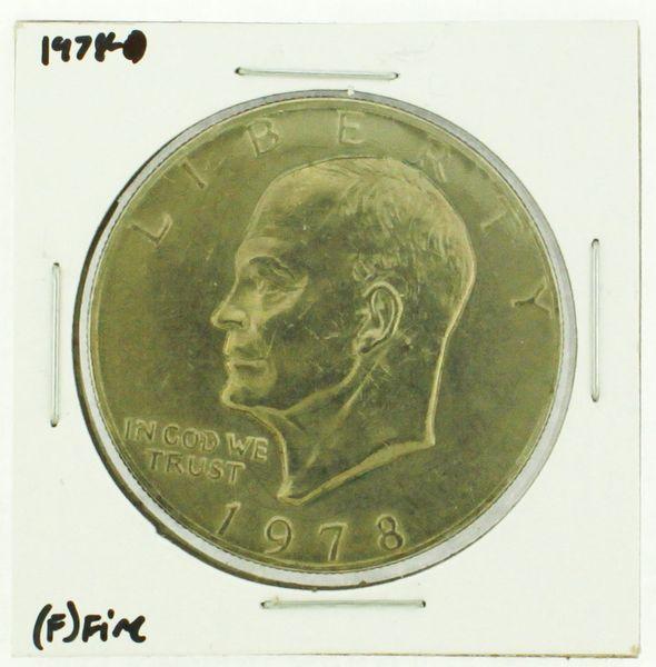 1978 Eisenhower Dollar RATING: (F) Fine (N2-4376-03)