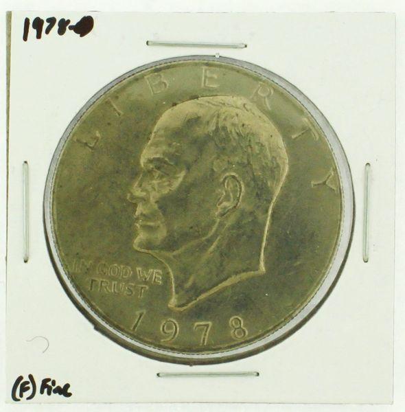 1978 Eisenhower Dollar RATING: (F) Fine (N2-4376-04)