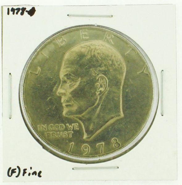 1978 Eisenhower Dollar RATING: (F) Fine (N2-4376-05)