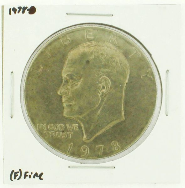 1978 Eisenhower Dollar RATING: (F) Fine (N2-4376-07)