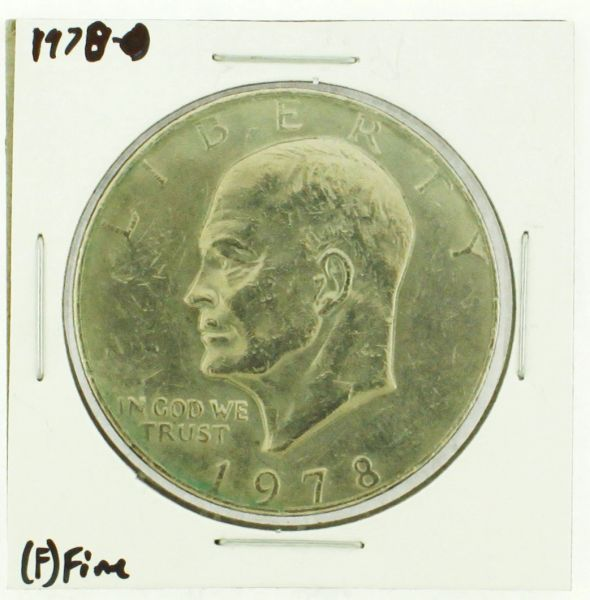 1978 Eisenhower Dollar RATING: (F) Fine (N2-4376-08)