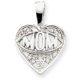Mom Heart Charm (JC-945)