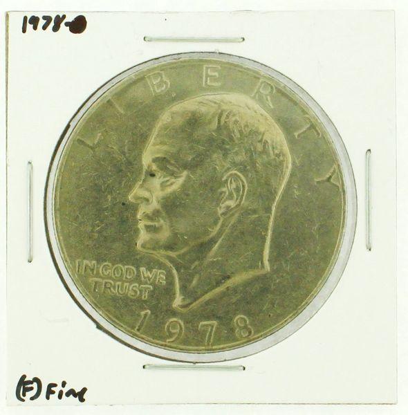 1978 Eisenhower Dollar RATING: (F) Fine (N2-4376-09)