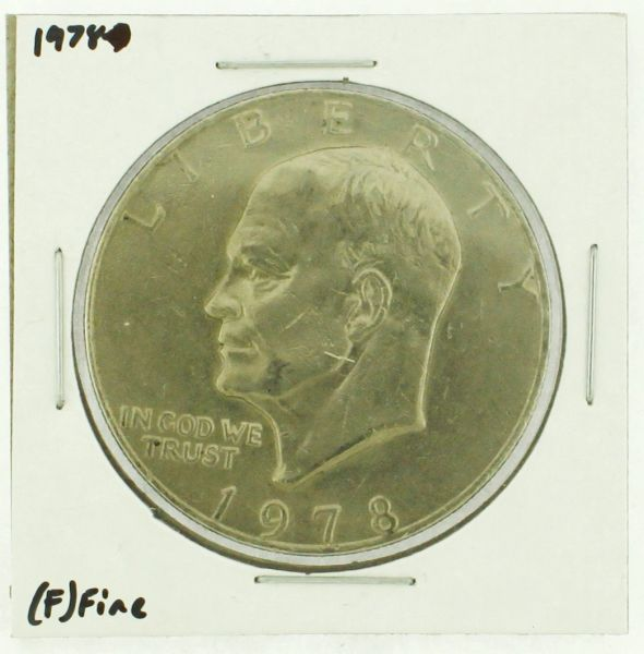 1978 Eisenhower Dollar RATING: (F) Fine (N2-4376-10)