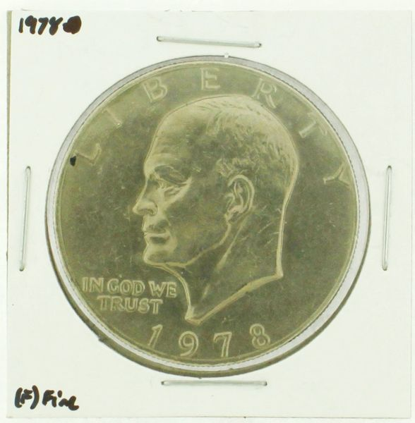 1978 Eisenhower Dollar RATING: (F) Fine (N2-4376-11)