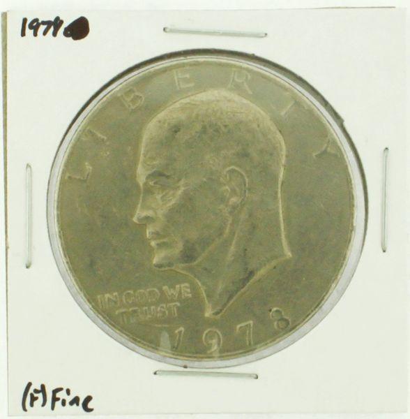 1978 Eisenhower Dollar RATING: (F) Fine (N2-4376-12)