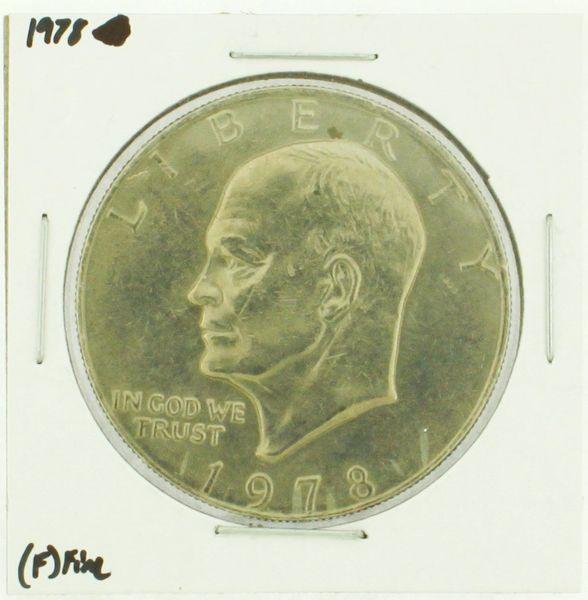 1978 Eisenhower Dollar RATING: (F) Fine (N2-4376-13)
