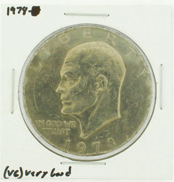 1978 Eisenhower Dollar RATING: (VG) Very Good (N2-4389)