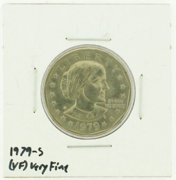1979-S Susan B. Anthony Dollar RATING: (VF) Very Fine (N2-4392-1)